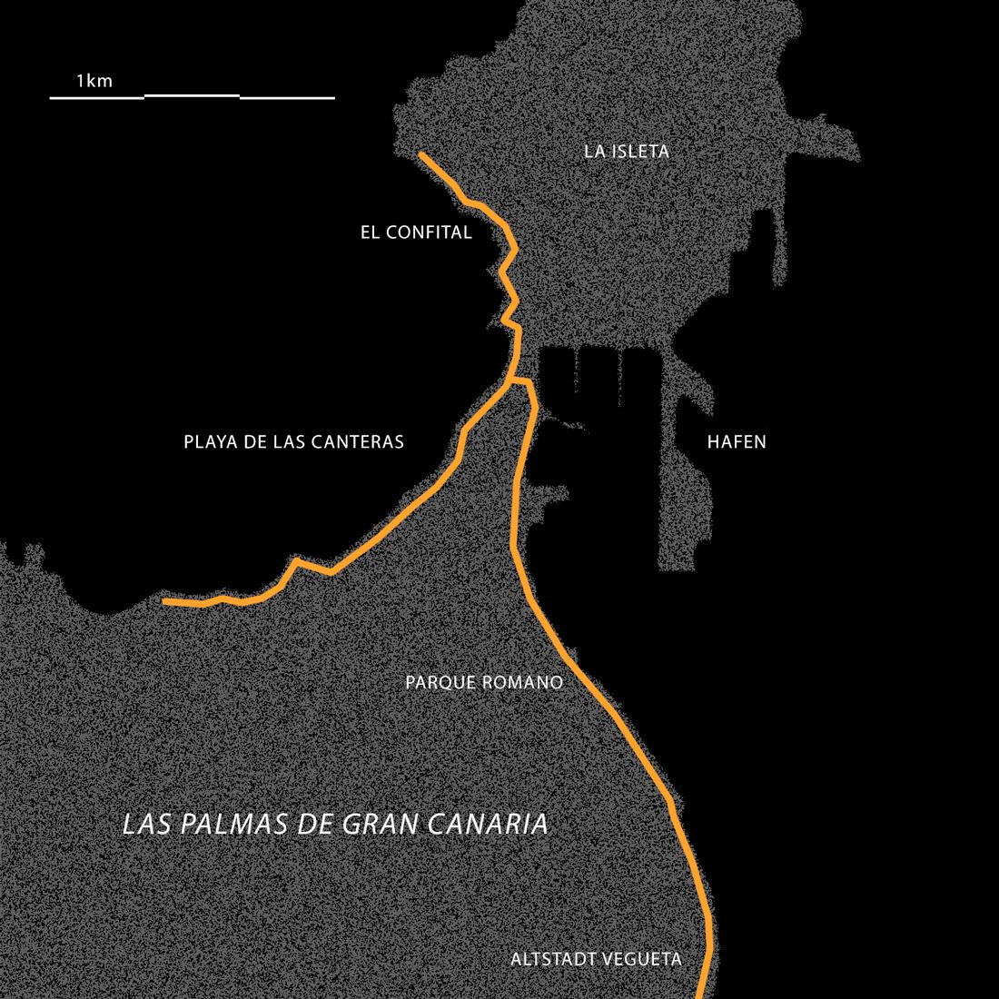 Las Palmas - Laufstrecken